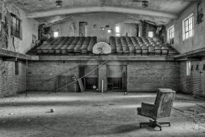 Church auditorium, Detroit, MI