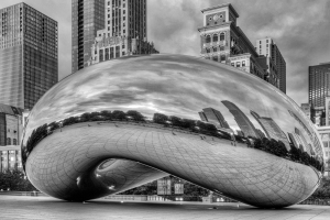 cloud gate DSF0856 edit bw
